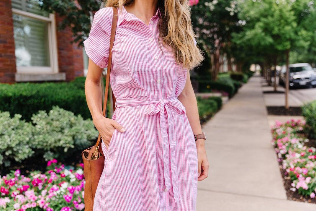 summer shirt dress from walmart