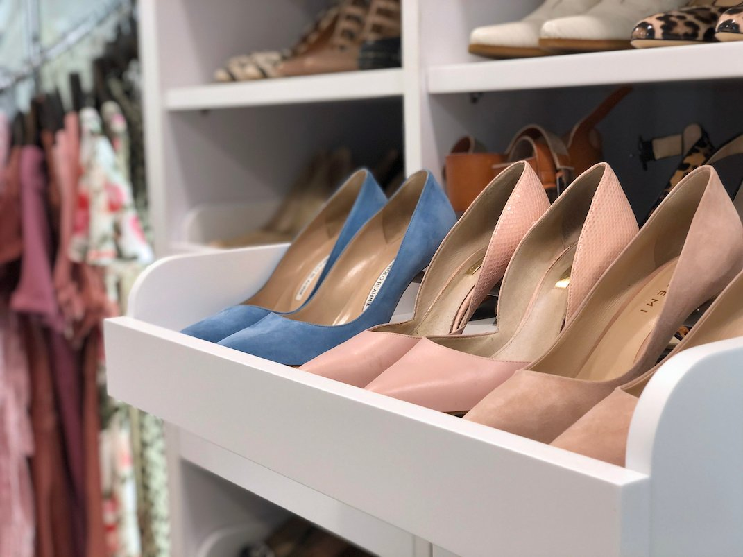 pull out shelves for shoes