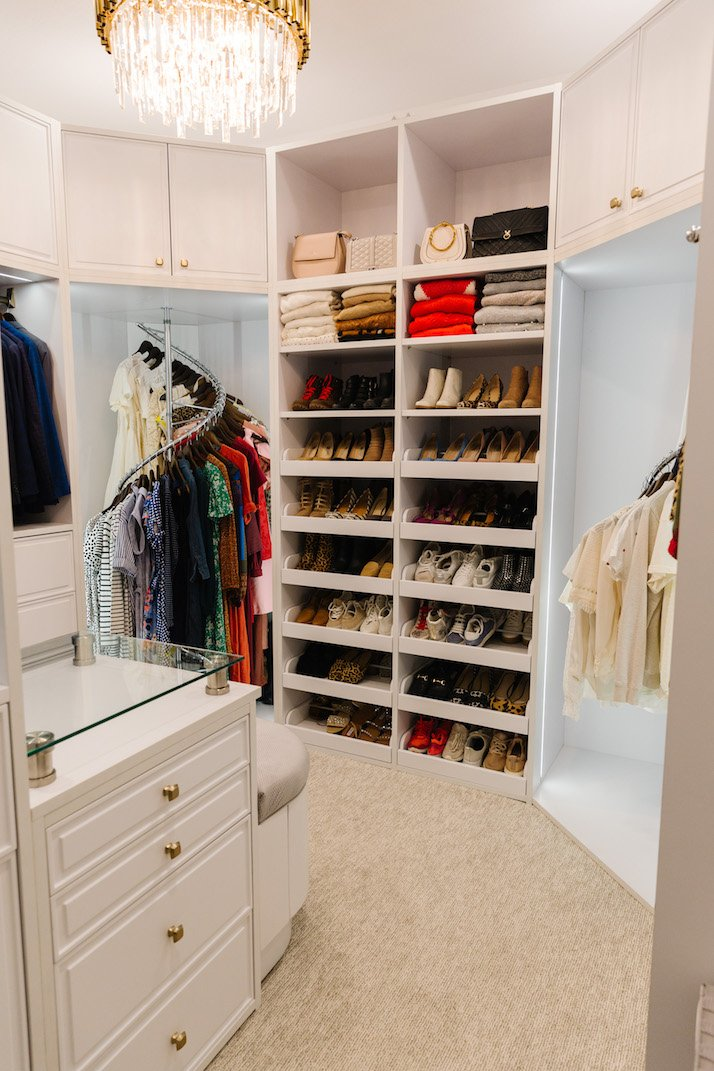his and her shared closet