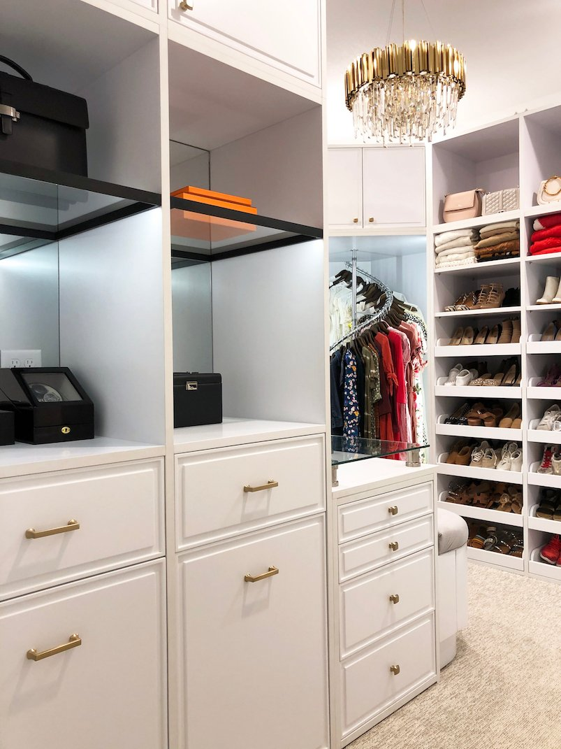 shared walk in closet