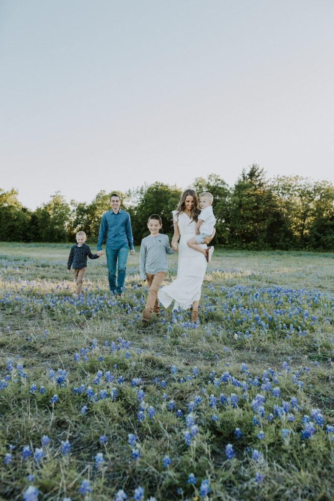 bluebonnets family pictures