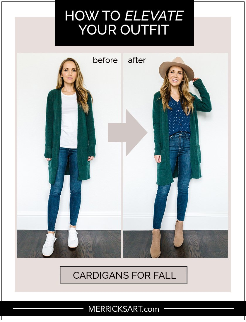 fall cardigan outfit