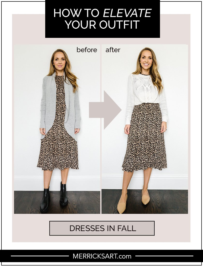 fall dress outfit