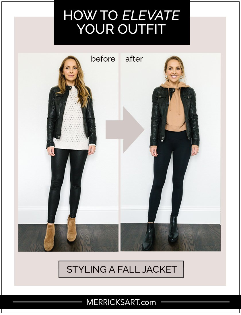 fall jacket outfit