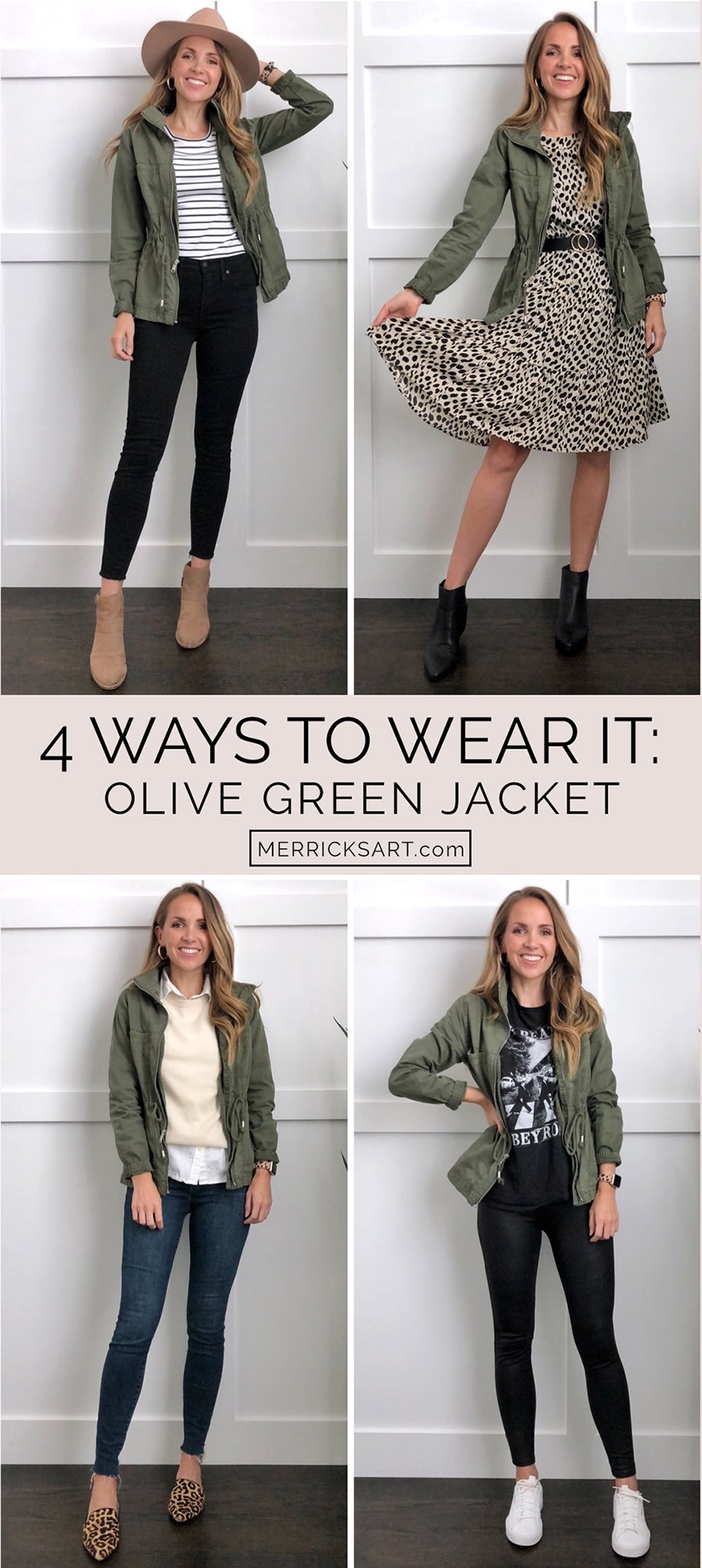 olive jacket outfit ideas