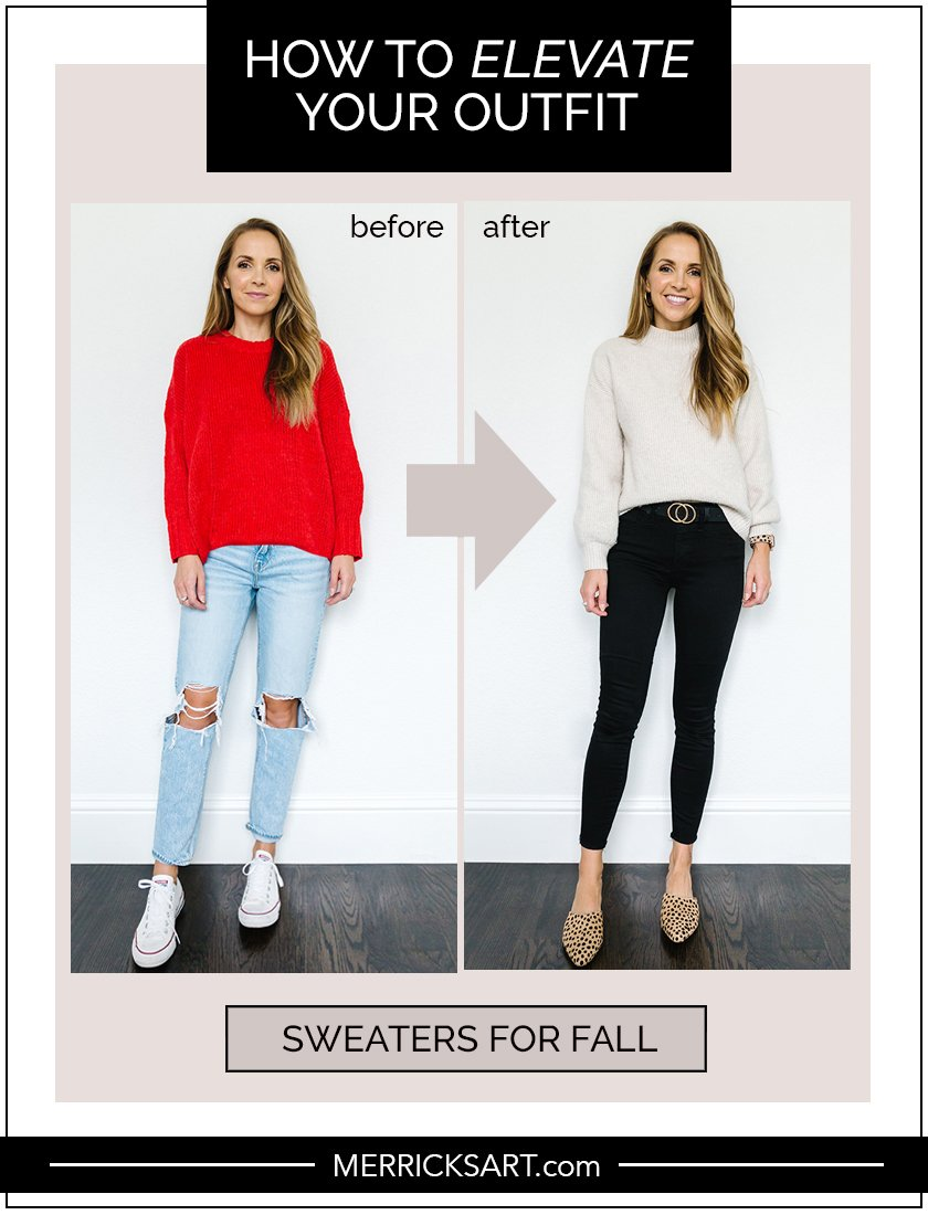 cute fall sweater outfit