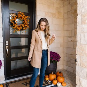 tan coat for women