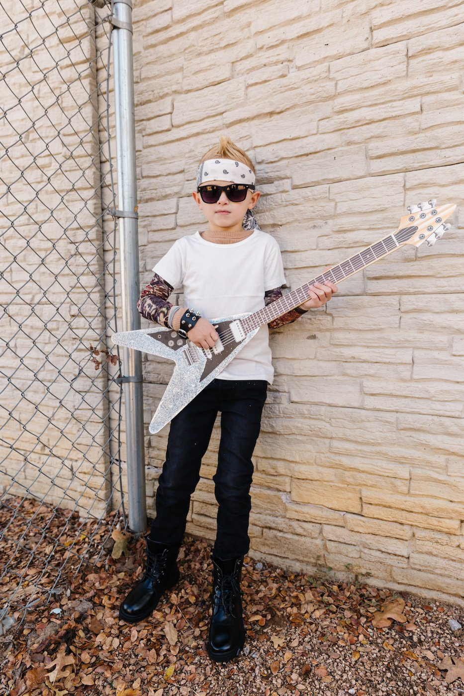 Kids rockstar halloween costume