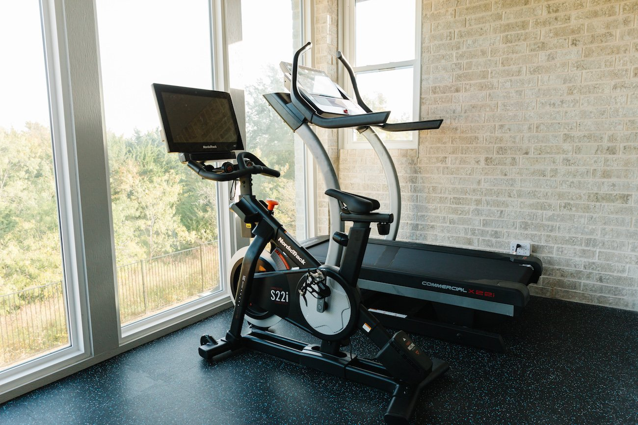 nordictrack treadmill and stationary bike