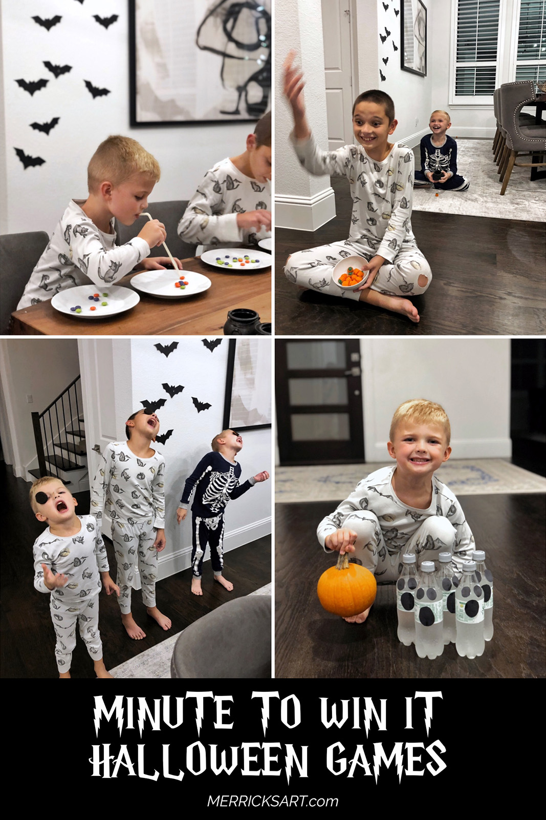 Fun and simple minute to win it Halloween games