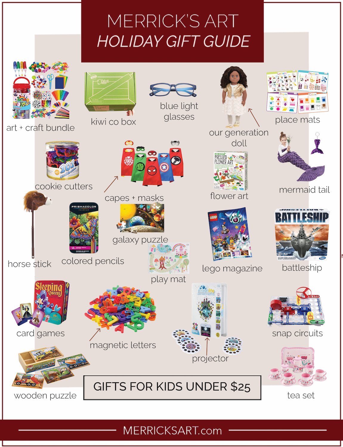 under $25 gifts for kids