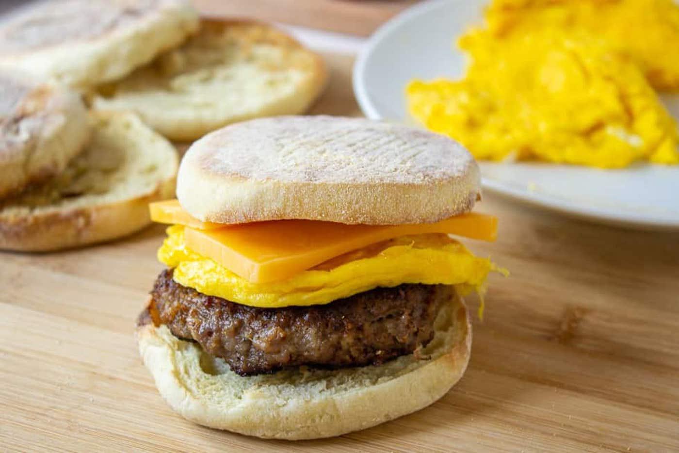 sausage breakfast sandwiches