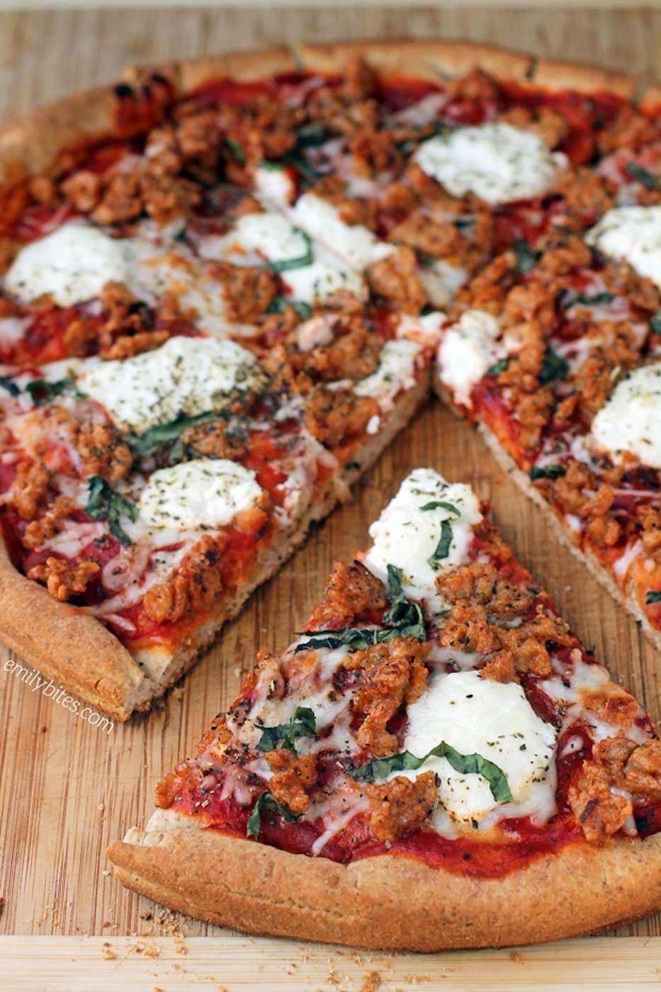Sausage-and-Ricotta-Pizza