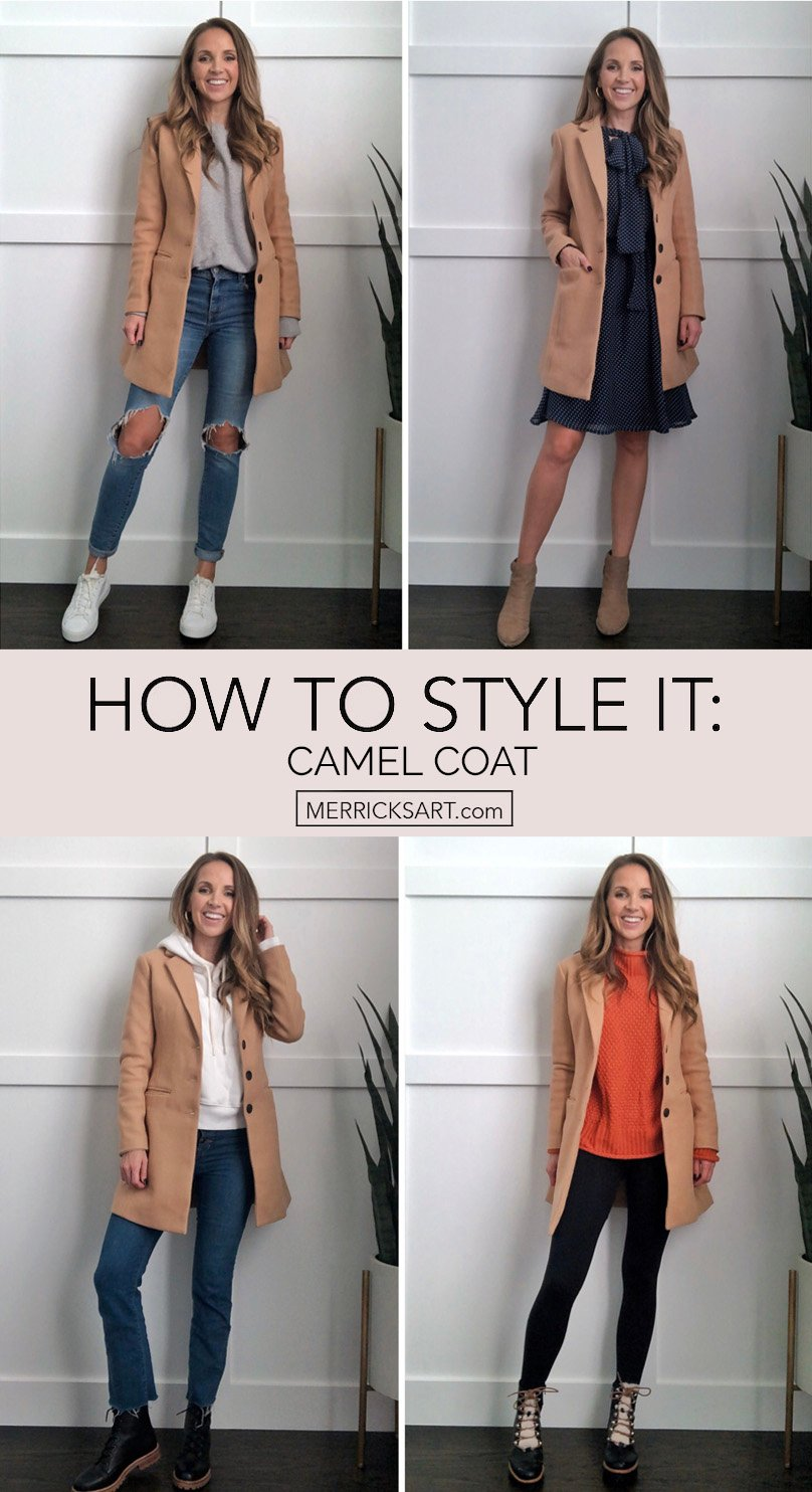 camel coats outfits