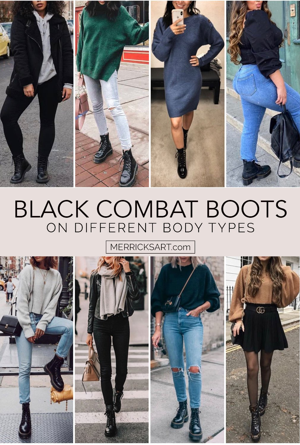 how to wear combat boot outfits