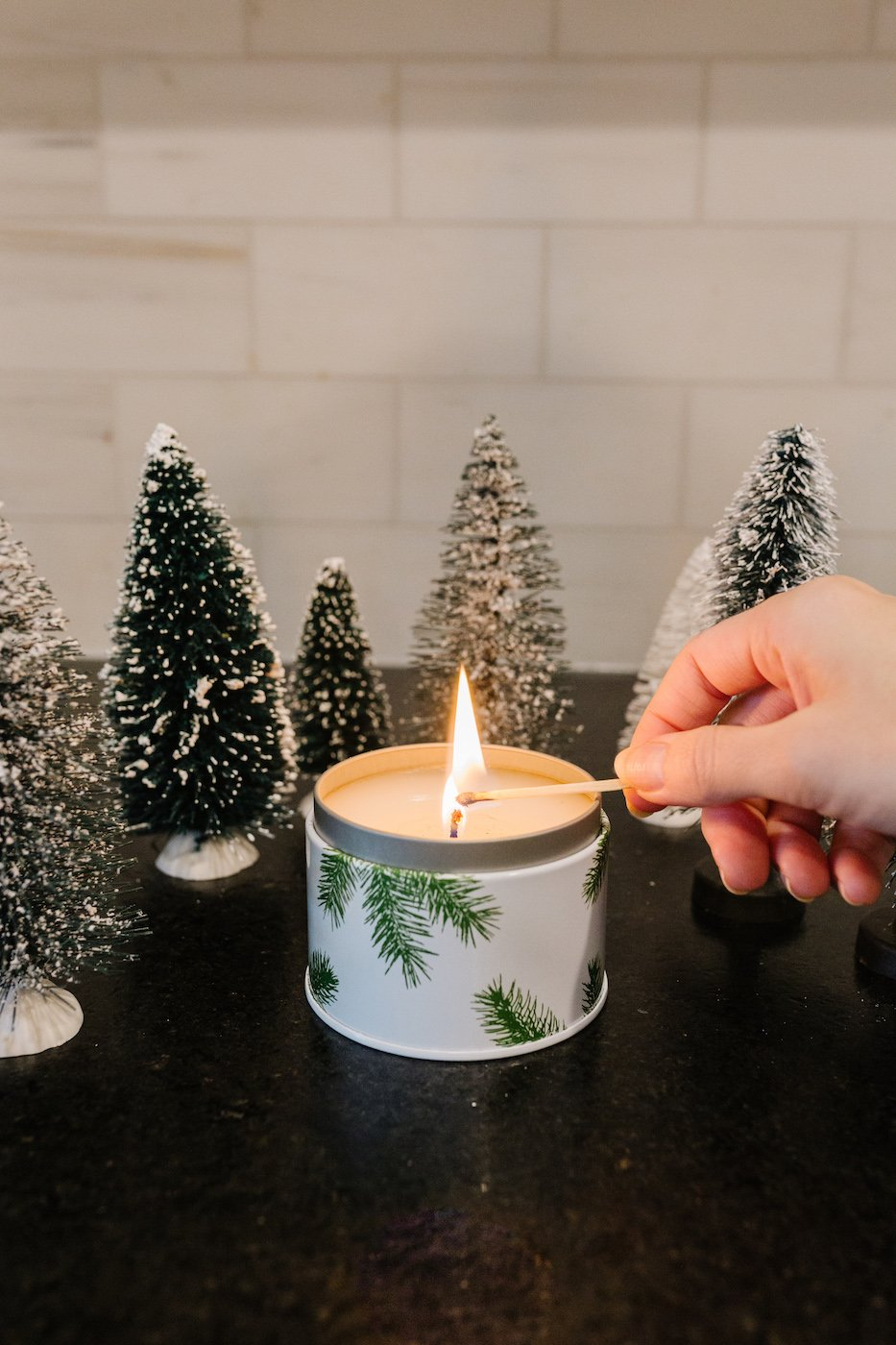 My favorite christmas candles