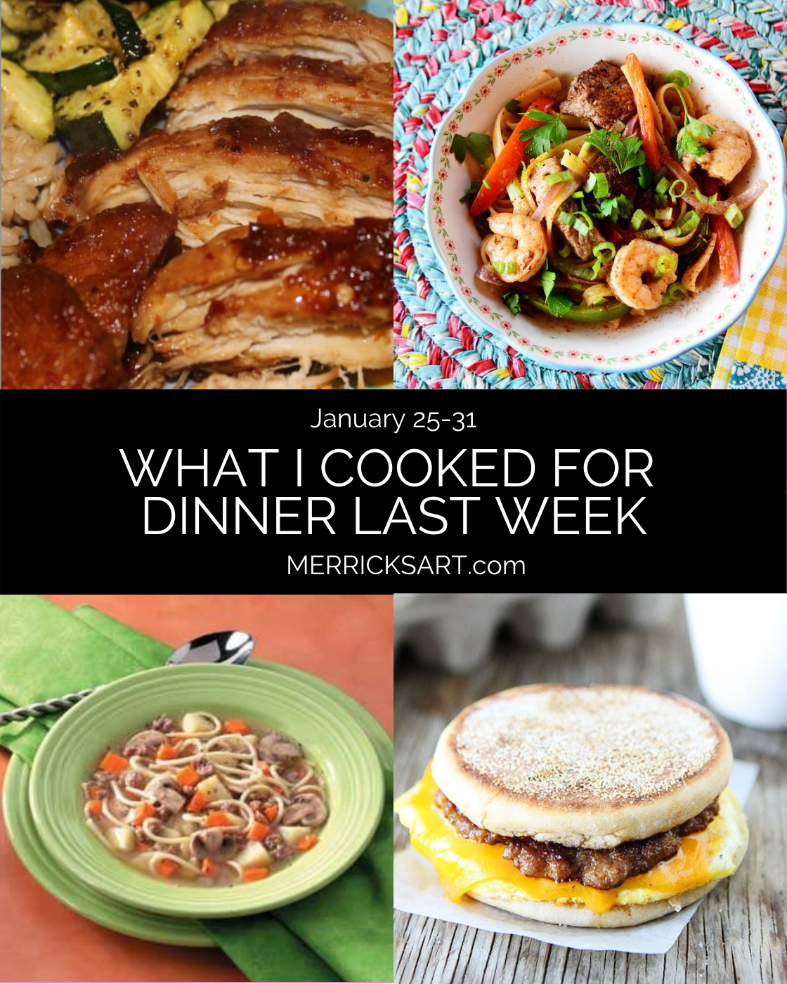 dinner ideas for this week