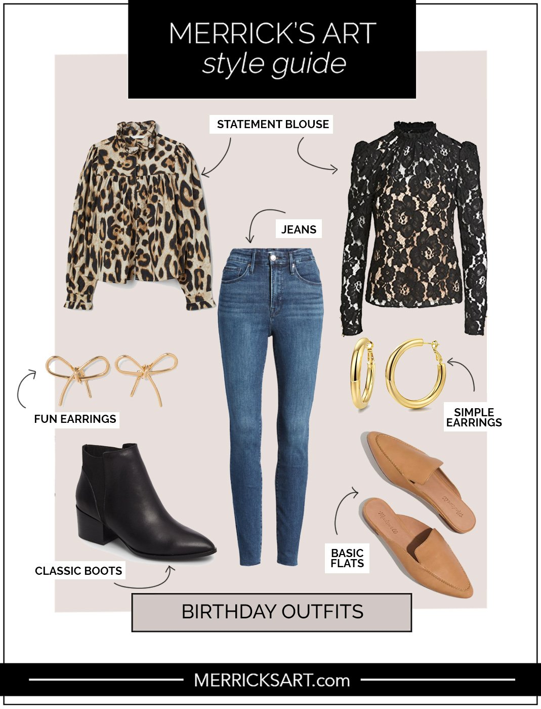 birthday outfit with statement blouse