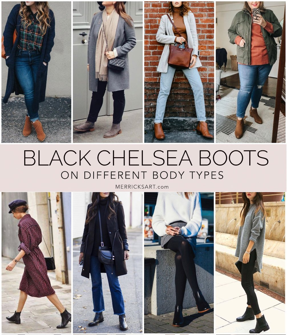 black chelsea boots outfit