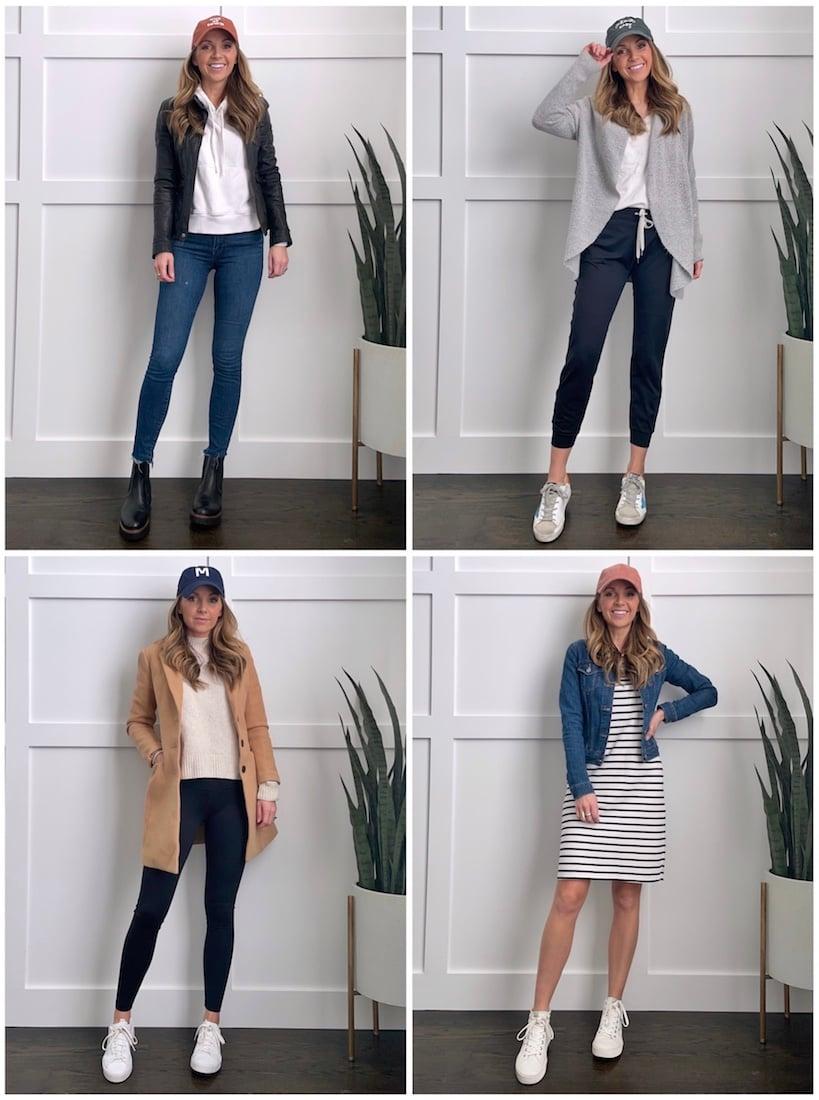baseball cap outfit ideas