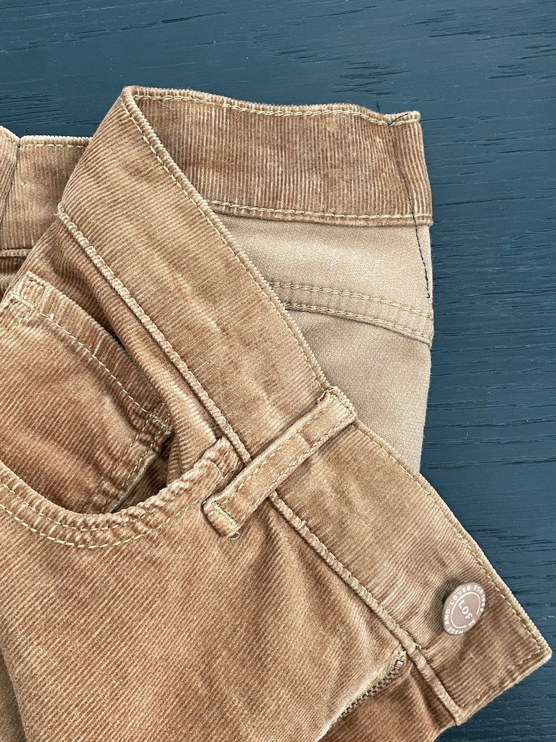 how to take in the waist of your jeans