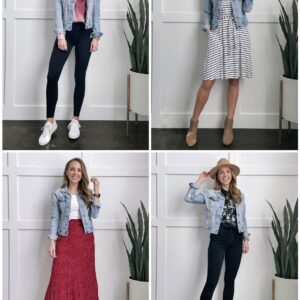 4 ways to wear a denim jacket