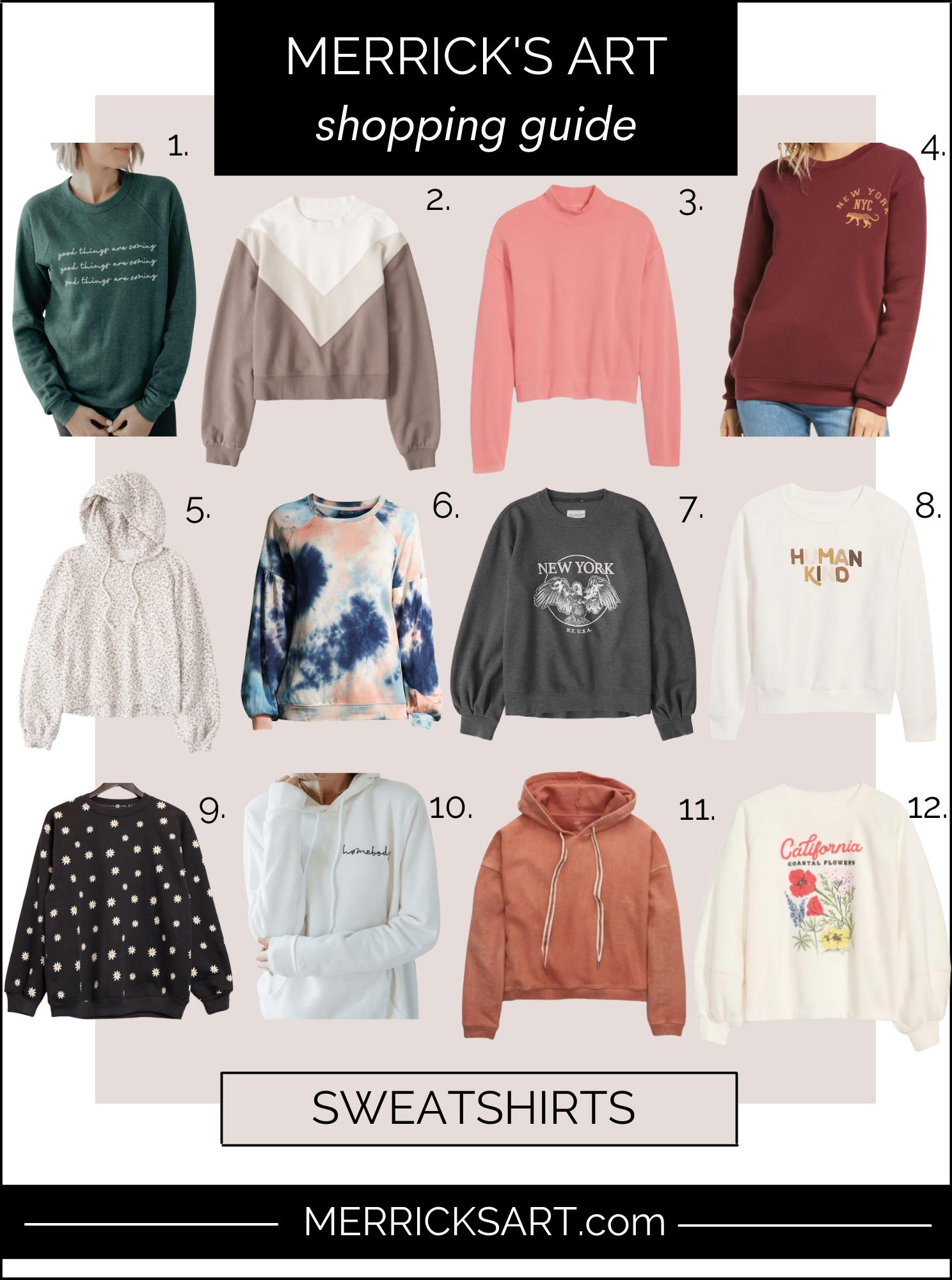 sweatshirt outfits