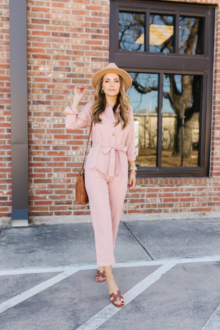 pink jumpsuit free assembly