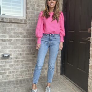 pink loft sweatshirt