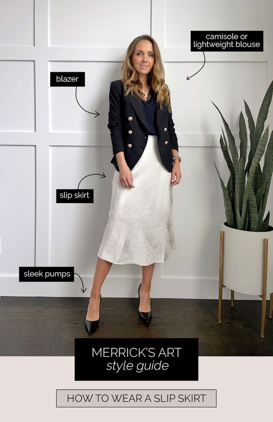 How to wear a slip skirt