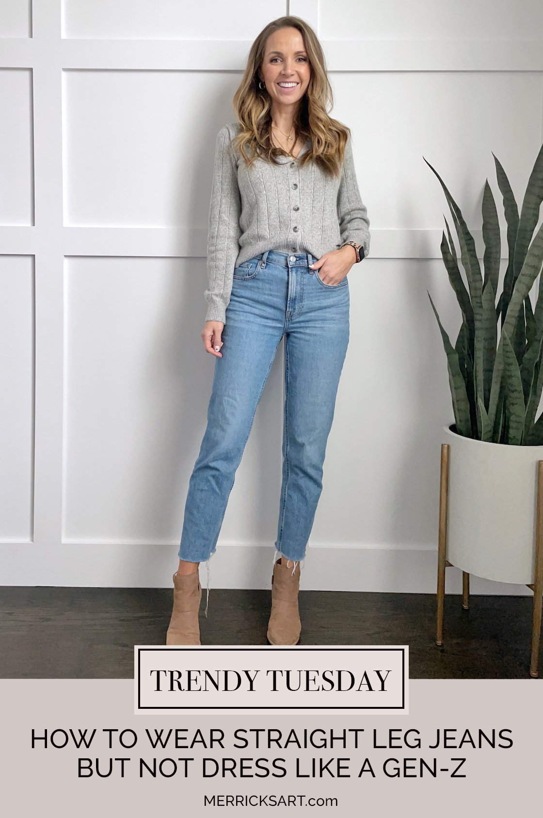 straight leg jeans outfit