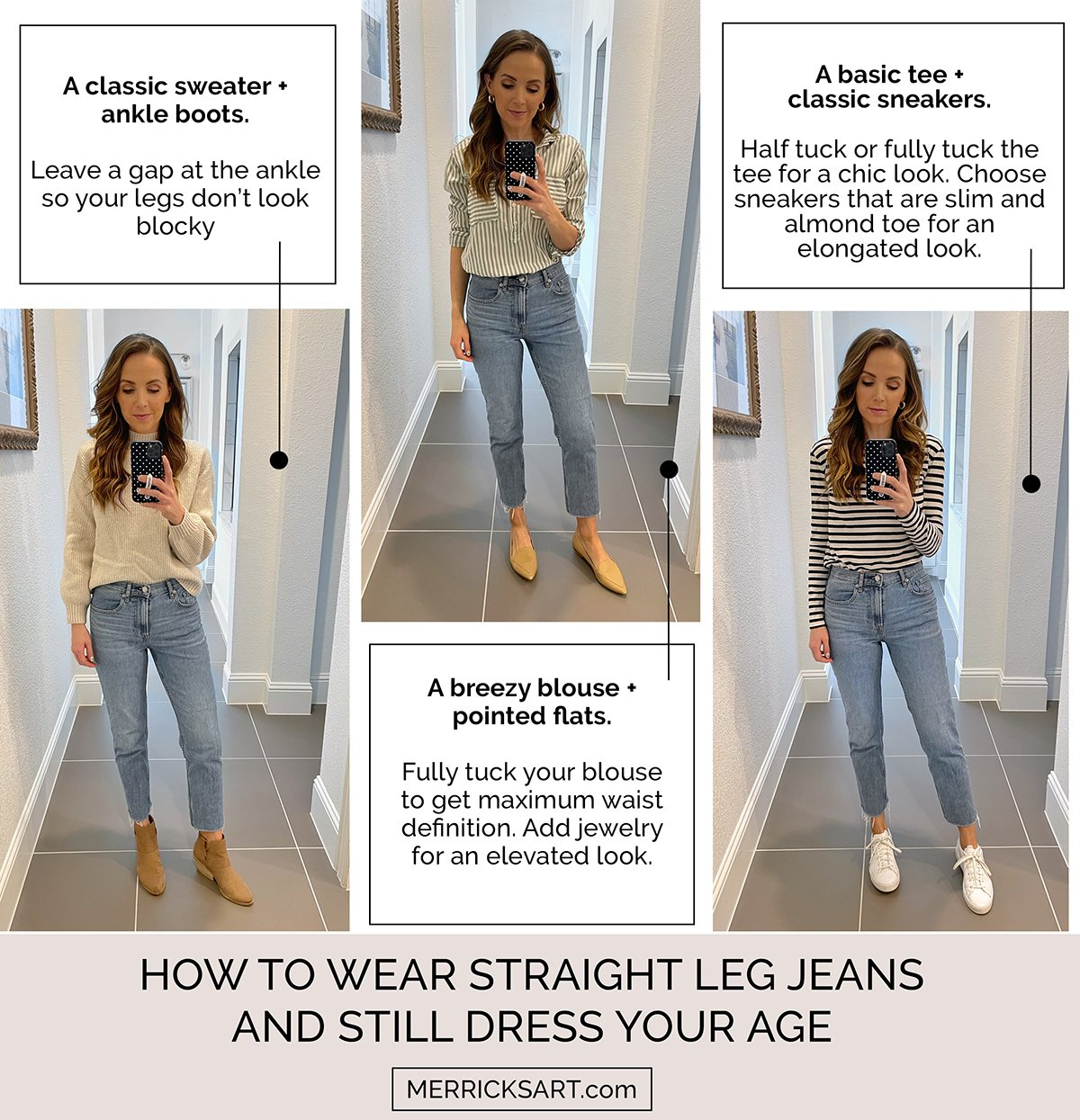straight leg jeans outfit ideas