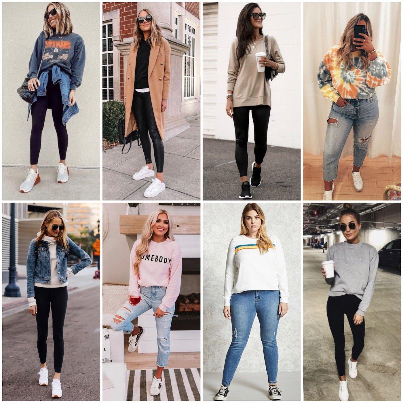 sweatshirts on other women