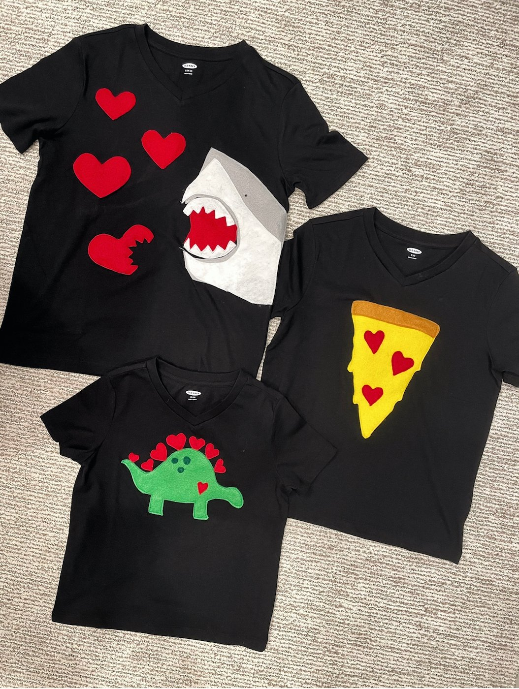 valentines day shirts for boys and girls