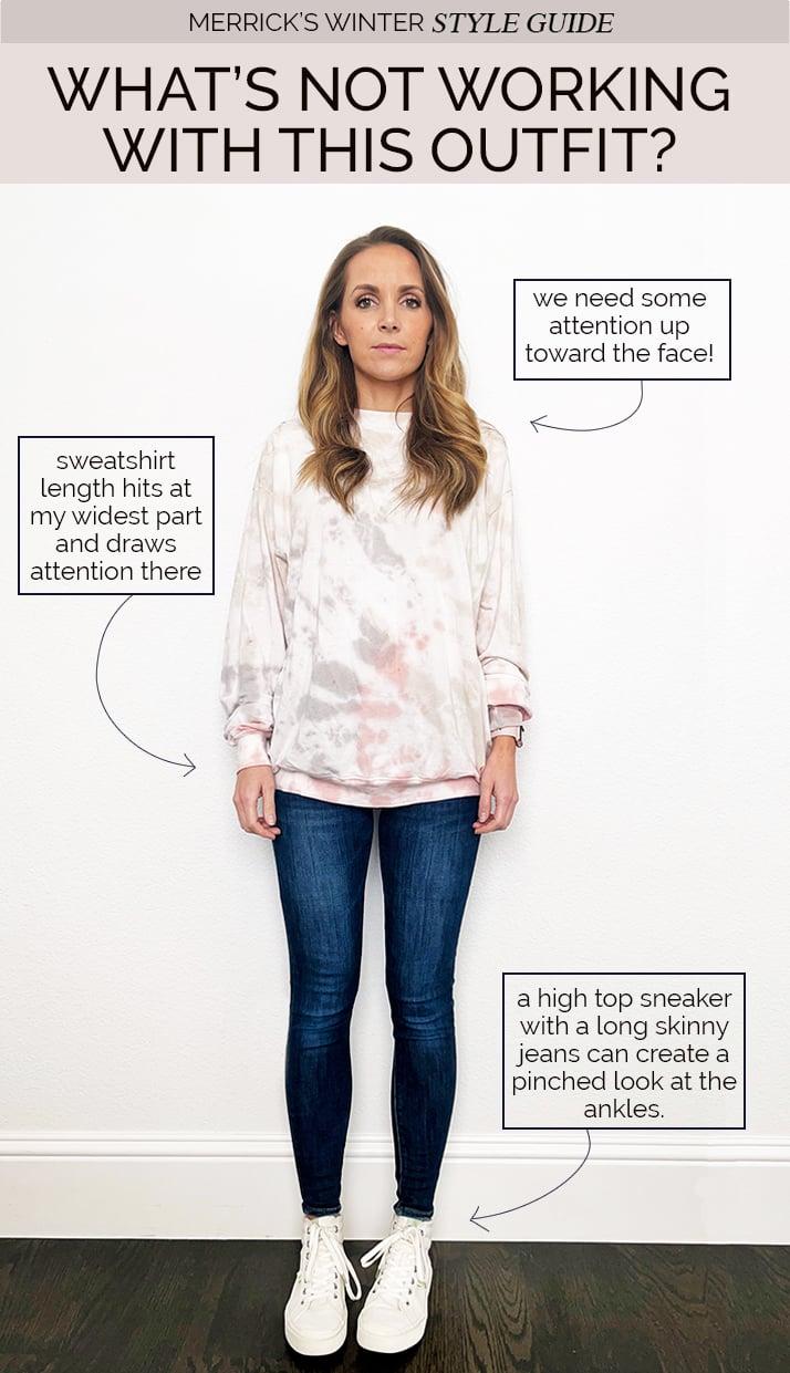sweatshirt outfit ideas