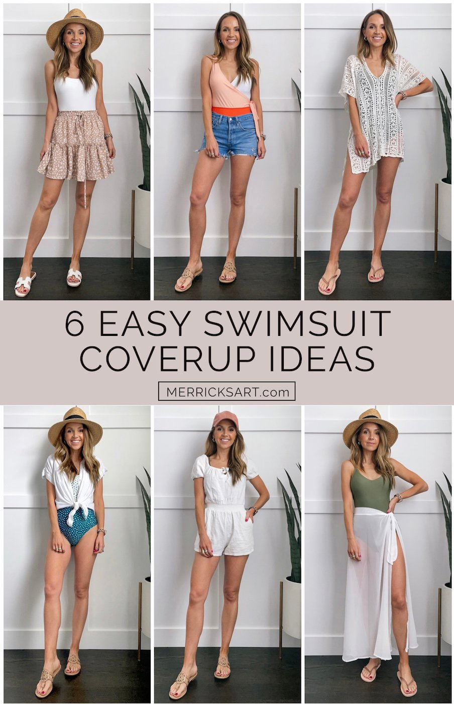 cute beach outfits and swimsuit coverups
