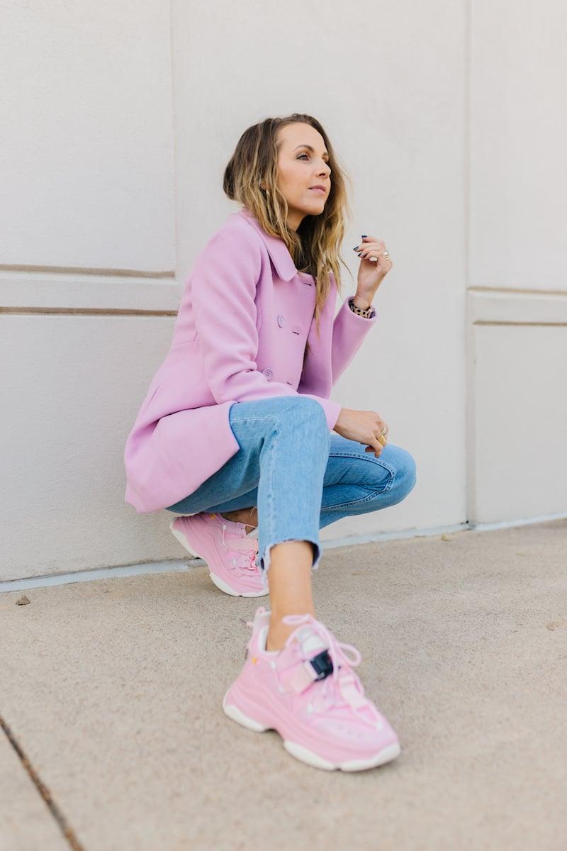 Pink Dad Sneakers