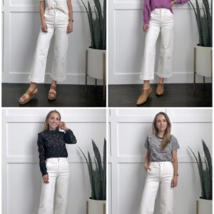 how to wear cropped wide leg pants