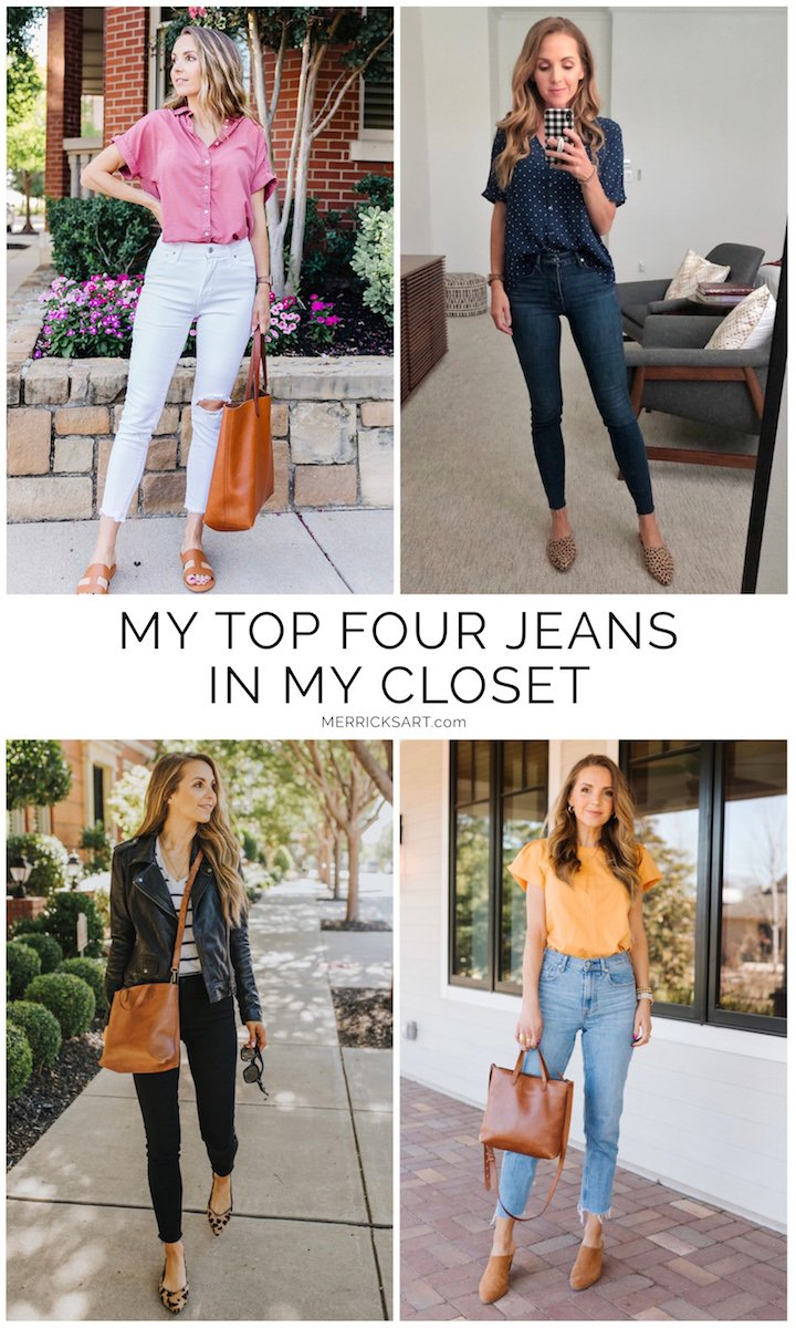top jeans in my closet