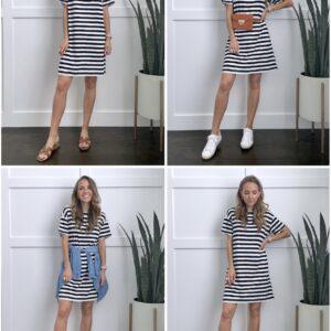 t-shirt dress outfits