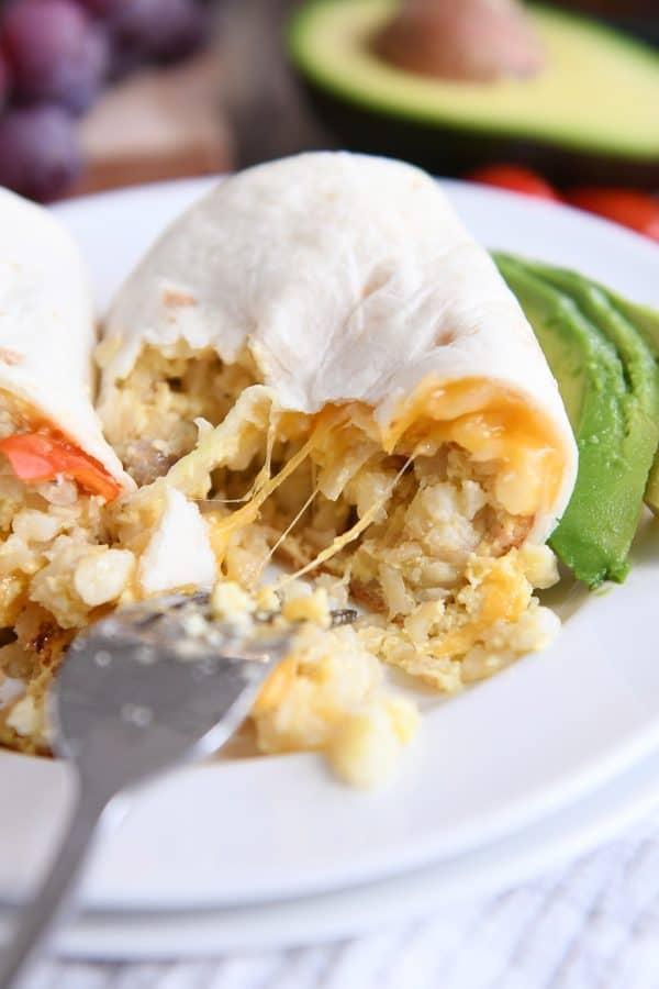 dinner ideas breakfast burrito
