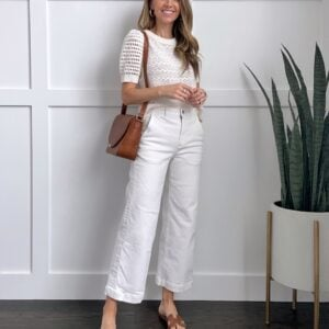white pants for summer