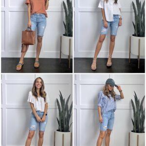 bermuda shorts outfit