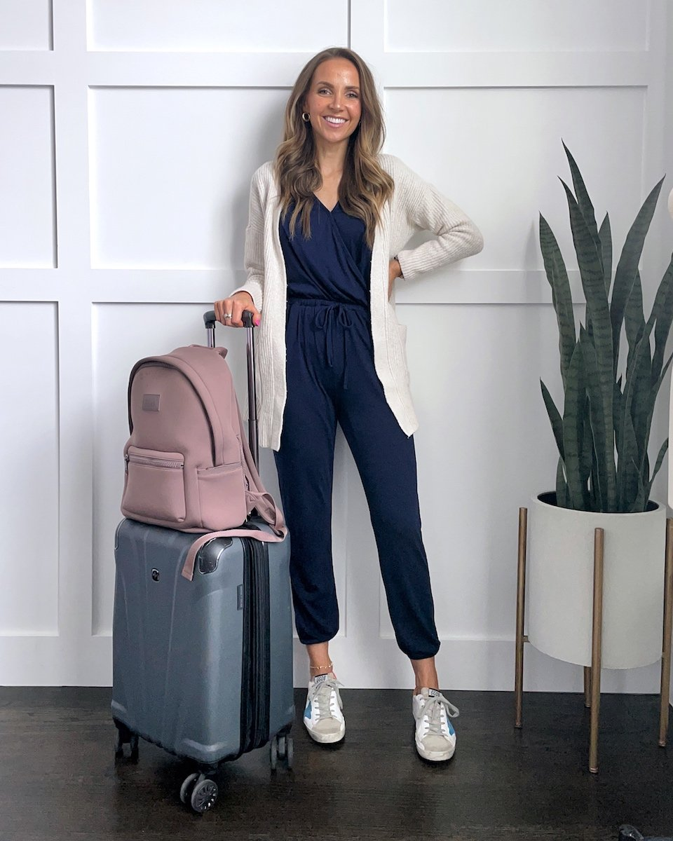 navy jumpsuit outfits