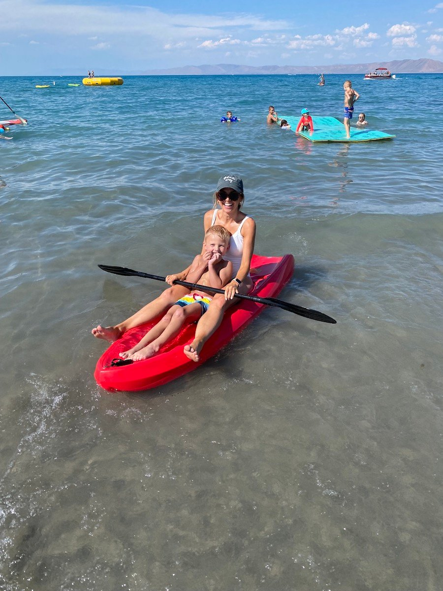 bear lake kayaking