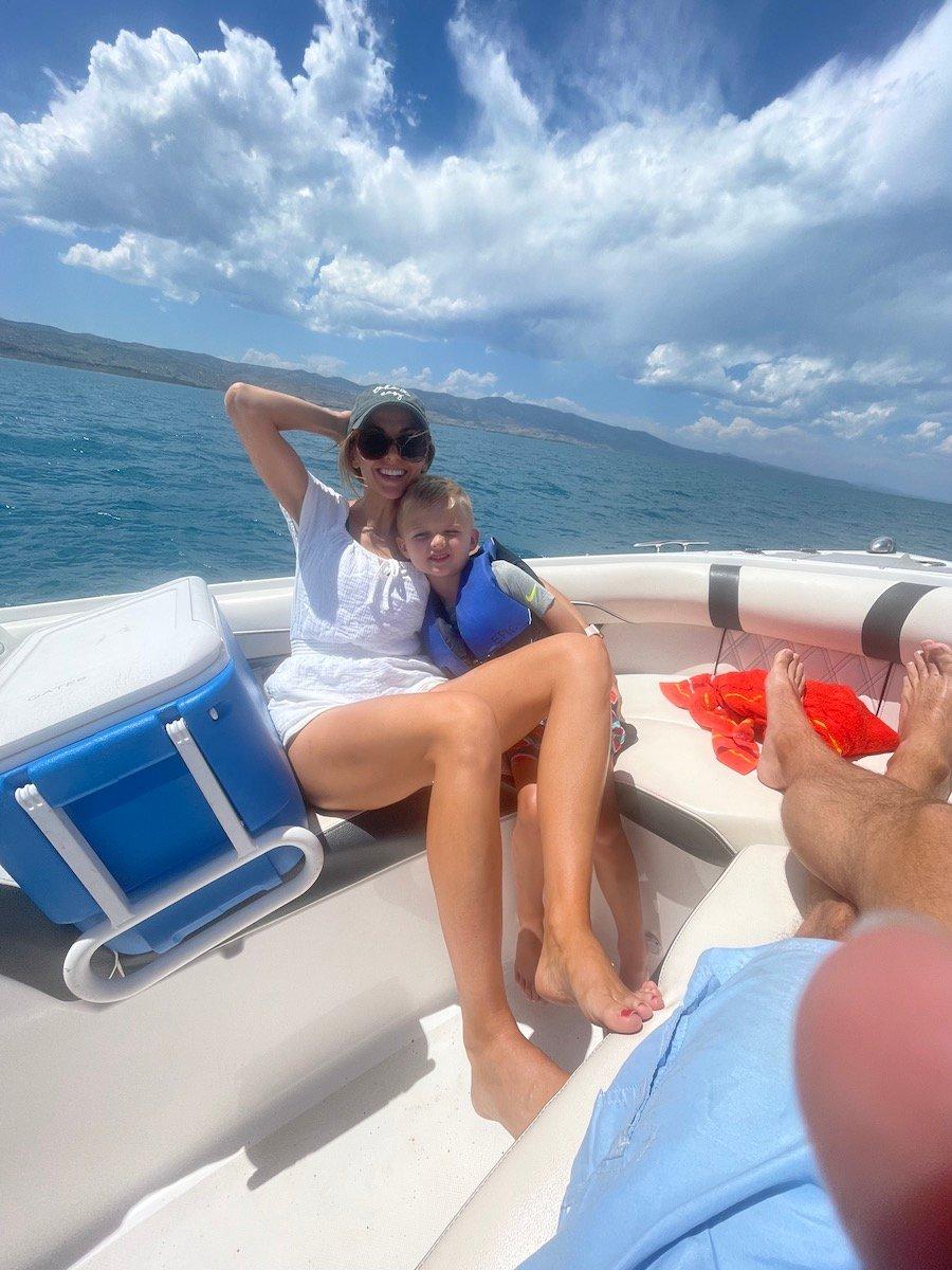 bear lake boat