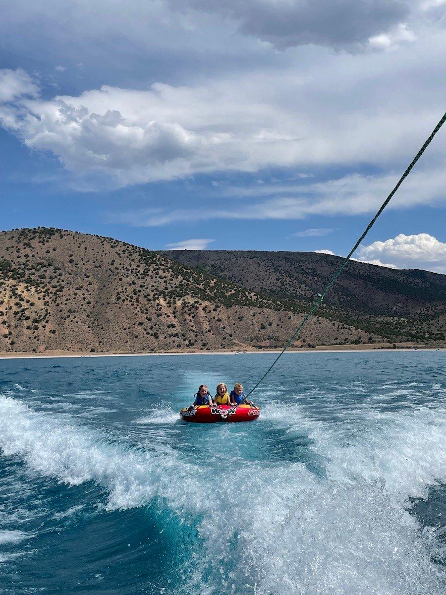 bear lake tubing