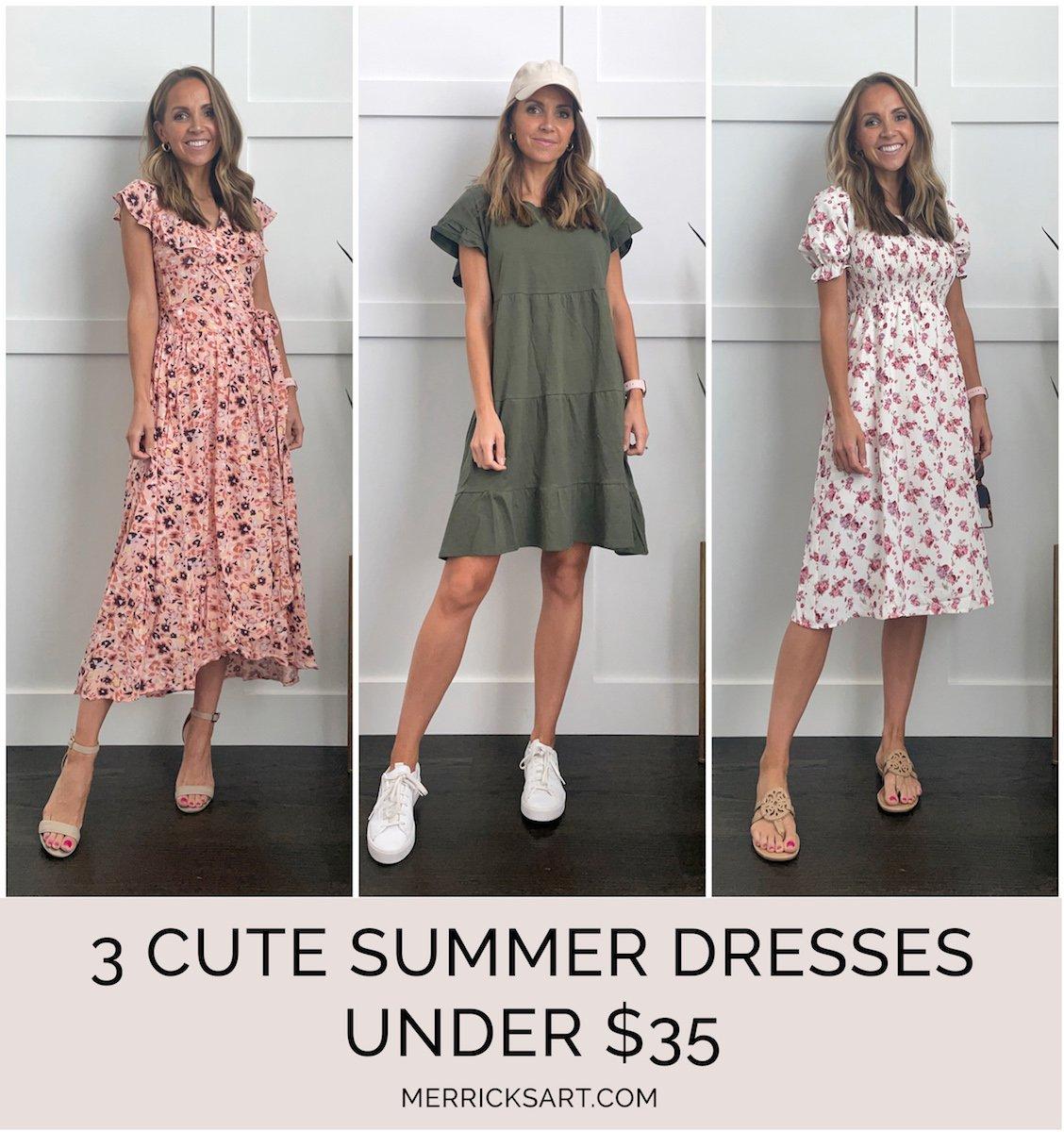 walmart dresses under $35