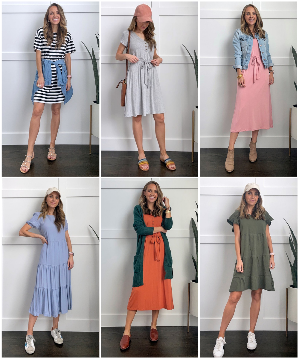 lazy day outfit dresses