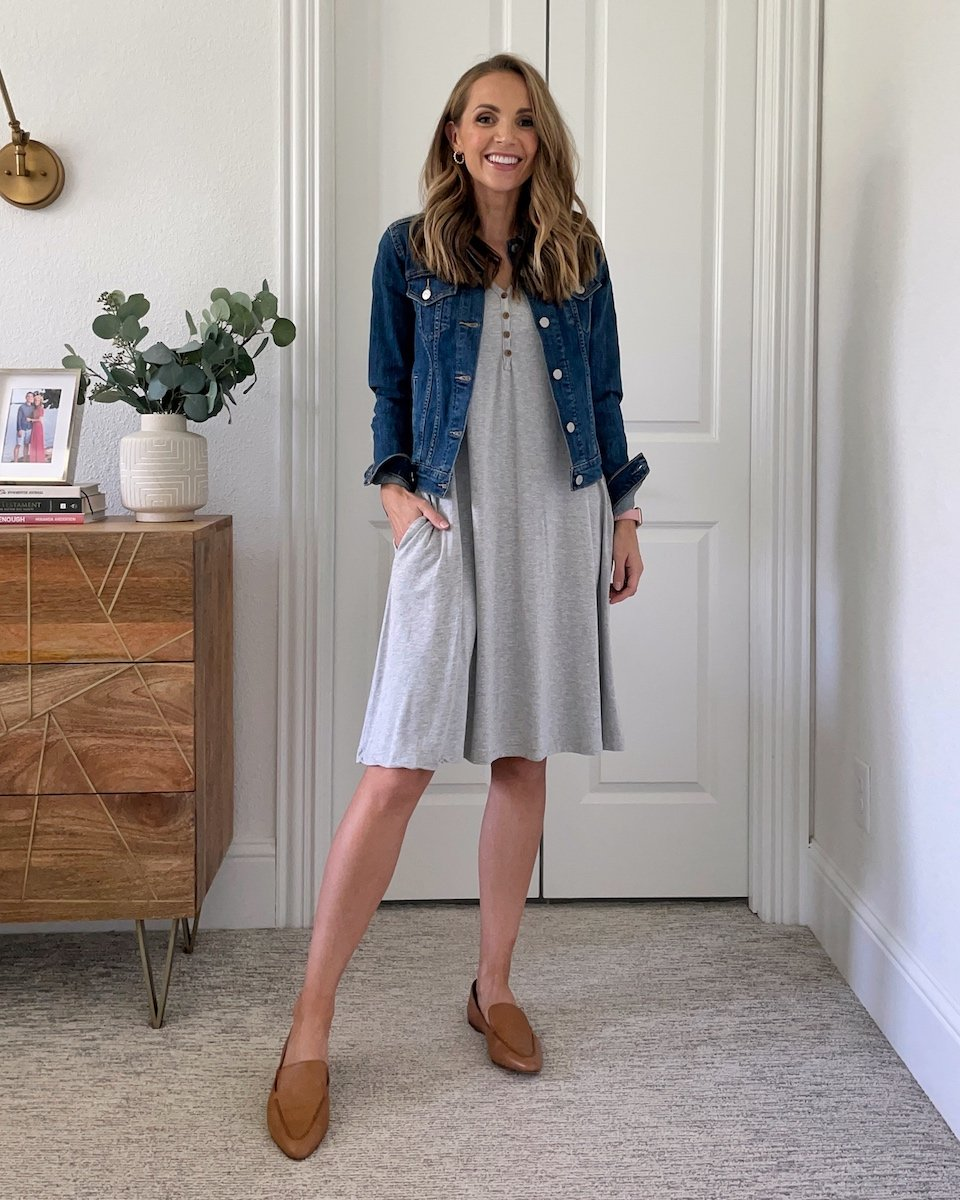 lazy day outfit comfortable dress